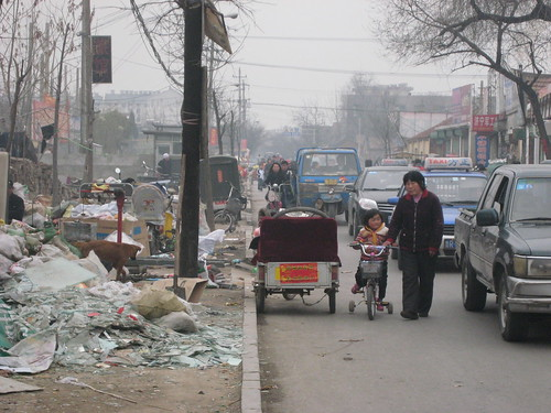Heze China  City new picture : Heze, China 478 | Design for Health Trash on sidewalk bad s ...