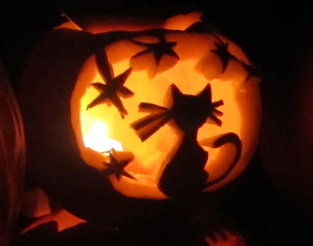 Cat Pumpkin Carving Ideas