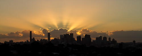 Brisbane City Sunrise | by Stuart Addelsee