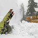 Snow removal on Cayuse Pass