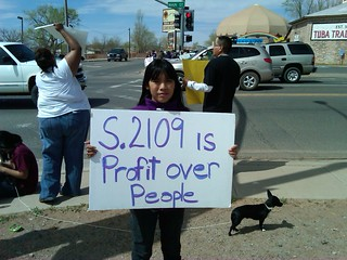 Jaime Lynn Butler Speaking Out in Tuba City, Arizona | by OurChildrensTrust