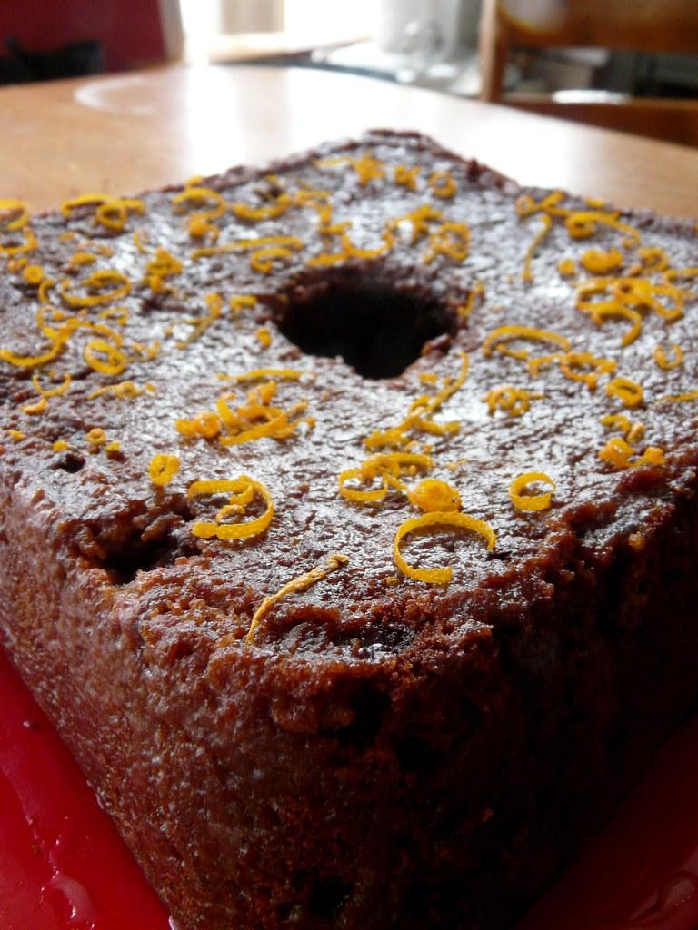 Chocolate Orange Cake With Chocolate Gamache Recipe