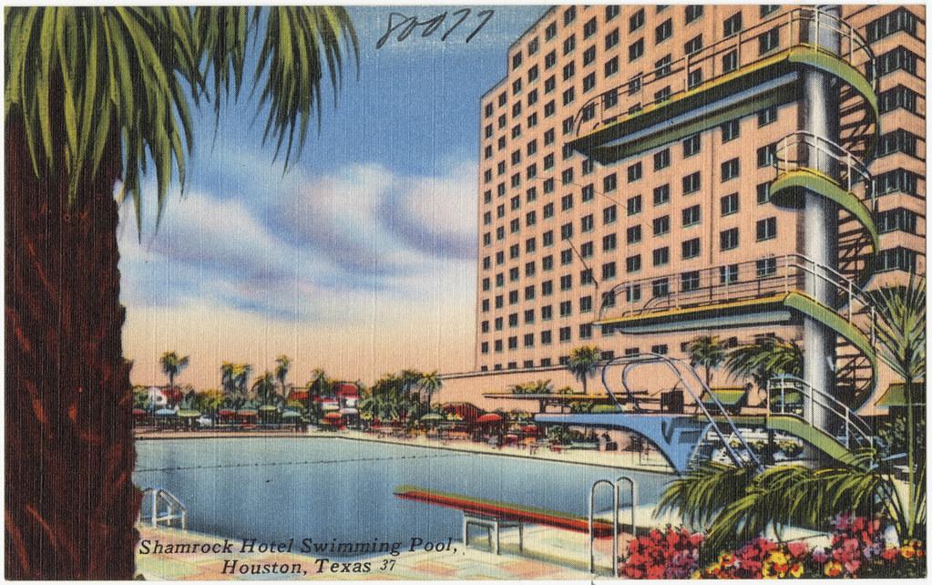 Shamrock Hotel Swimming Pool Houston Texas File Name 06 Flickr