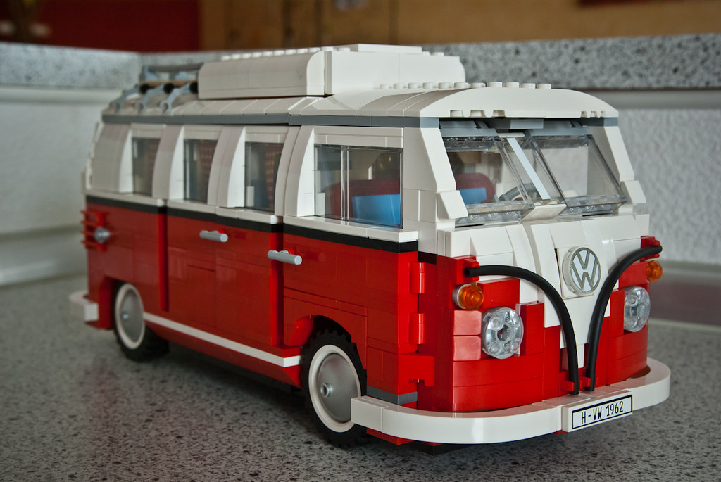 vw combi lego volkswagen combi campervan lego 10220 gk photo flickr. Black Bedroom Furniture Sets. Home Design Ideas