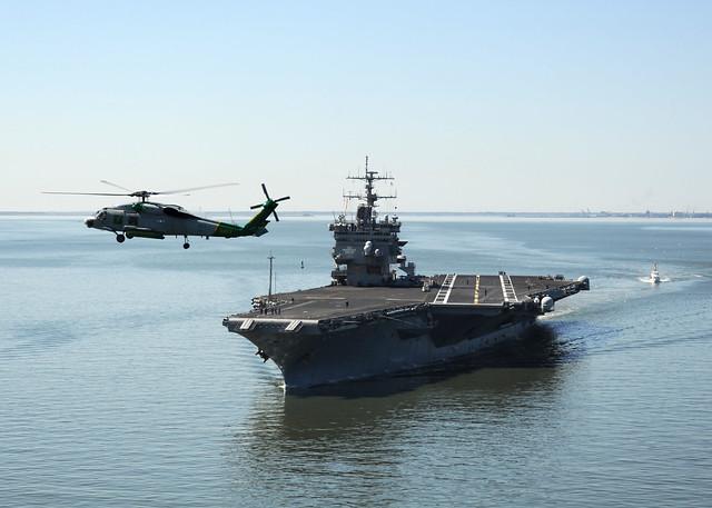 uss enterprise departs naval station norfolk for the ship