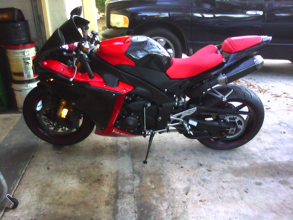 Yamaha R1 Red And Black Yamaha