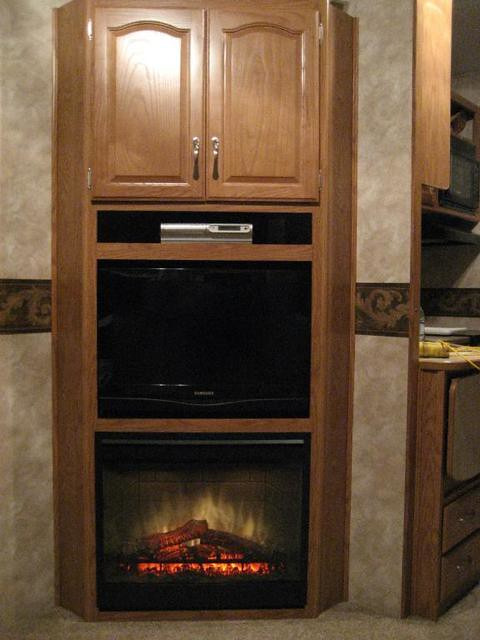 Dimplex 26 inch RV installation | Here is a recent custom ...