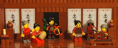 departure of the Samurai by legophthalmos