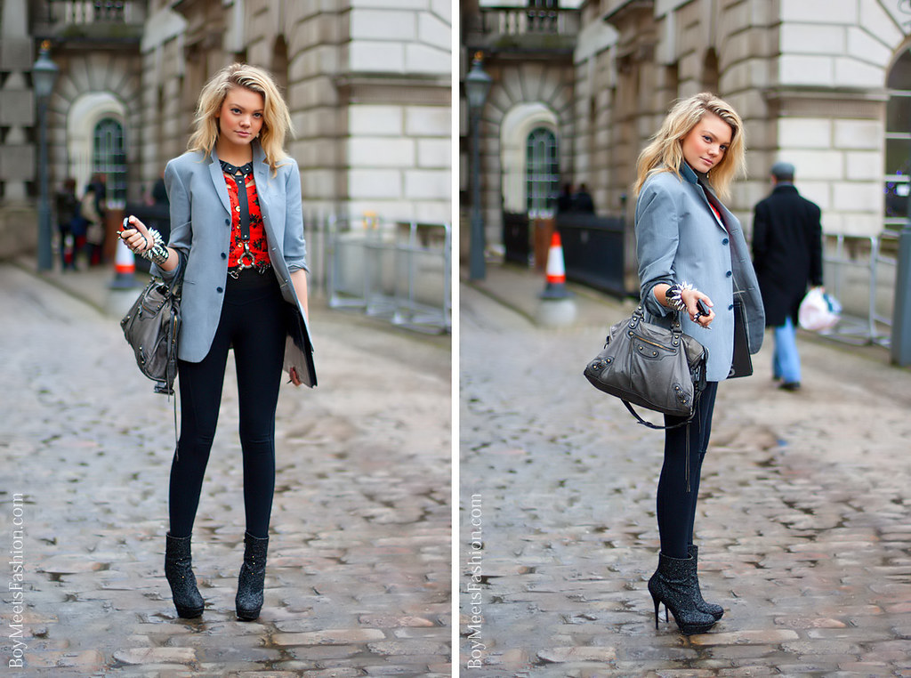 Fashion Week Street Style  City London