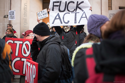 2012 02 11 Acta protest London | by rimvisi