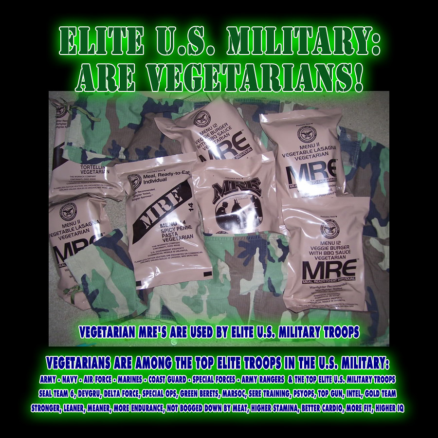 vegetarian mres for top elite us military troops high e flickr