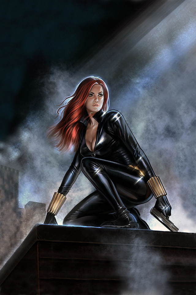 Black Widow Screen Paint For Sale