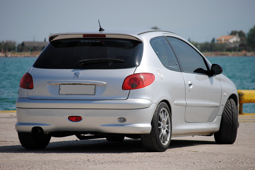 peugeot 206 gti s16 my pug as a model d tasos mansour flickr. Black Bedroom Furniture Sets. Home Design Ideas