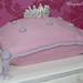 Princess pillow and tiara cake