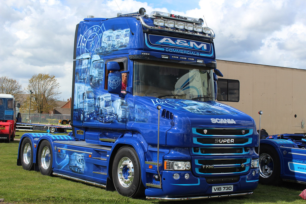 A Amp M Commercials Scania T730 V8 A Amp M Commercials Gorgeous