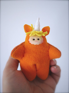 UNICORN: Orange/Yellow - peach
