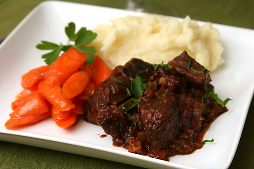 wine braised beef 7 | by crumblycookie