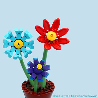 LEGO Flowers | by bruceywan