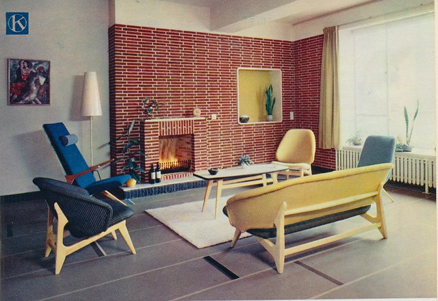 Interieur 1960 A Flickr Photo Sharing