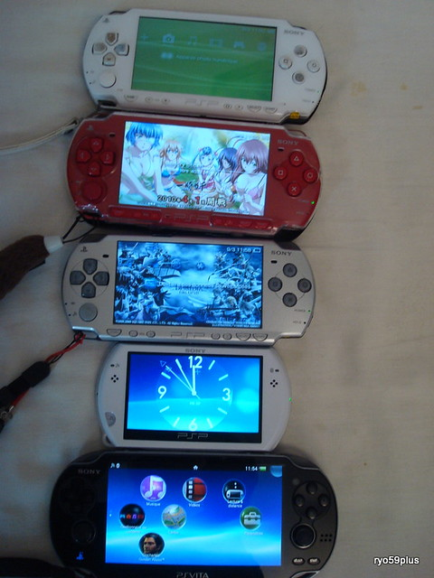 Playstation Vita Vs Psp : Psvita vs psp flickr photo sharing