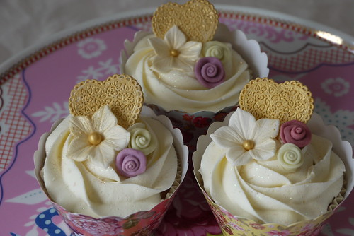 Golden Wedding Anniversary Cupcakes Flickr Photo Sharing