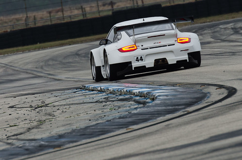 Sebring 2012 - ALMS / WEC Winter Test - Flying Lizard Motorsports Porsche 911 GT3 RSR | by Old Boone