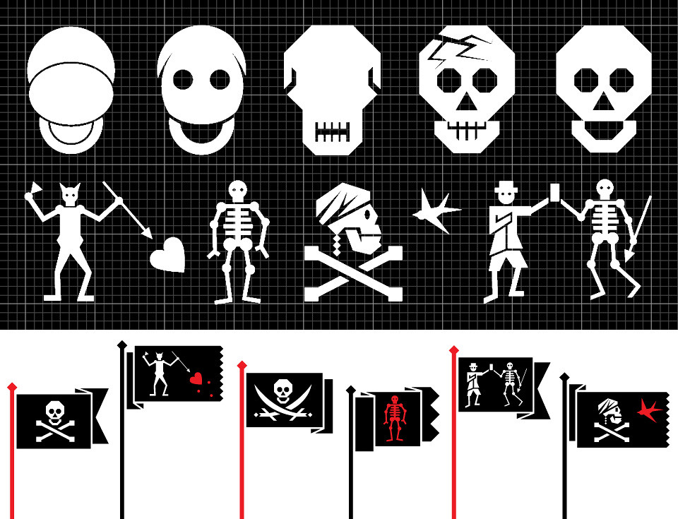Wired 20.03 : Famous Pirate Flags. | mwmgraphics.blogspot ...
