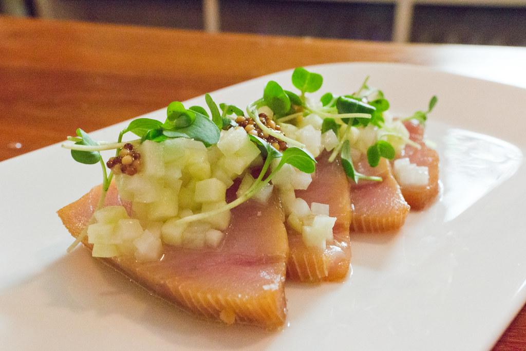 Anglo albacore crudo 15 sushi grade albacore tuna for What is sushi grade fish