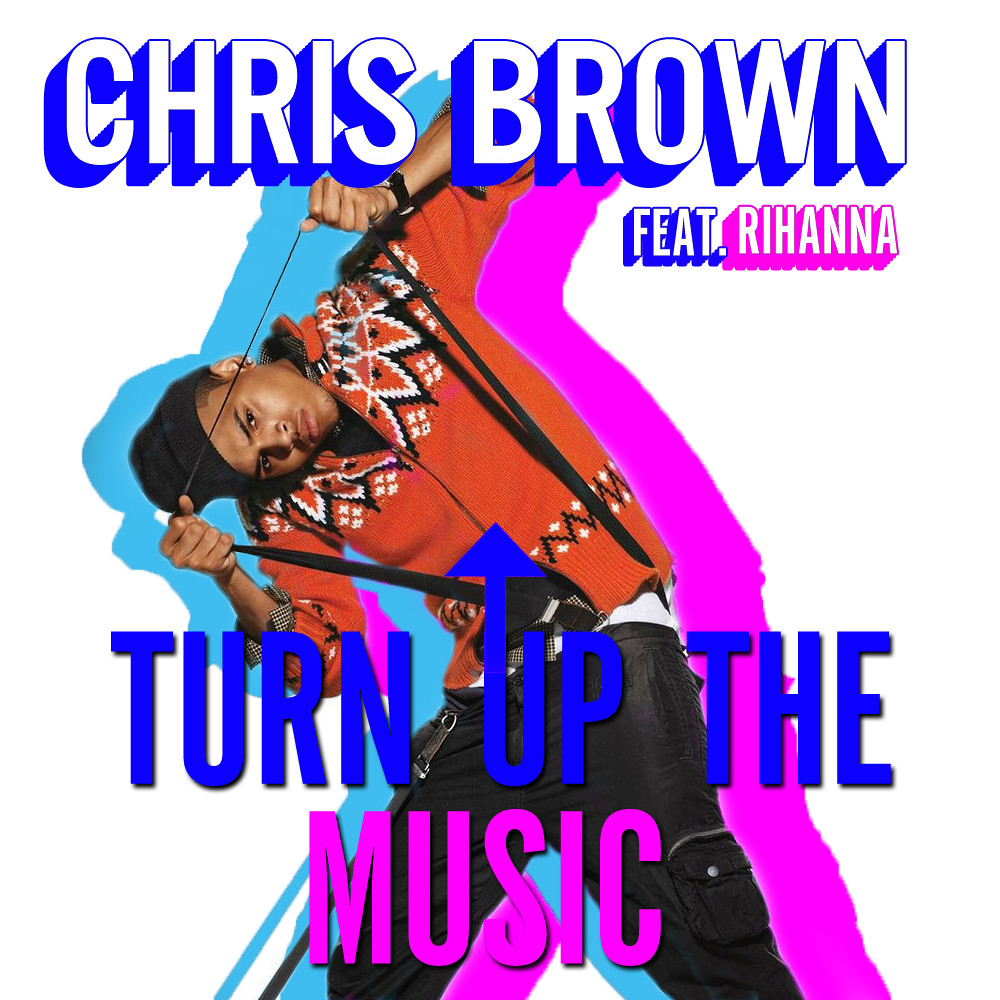 Chris brown ft rihanna turn up the music (miami life remix.