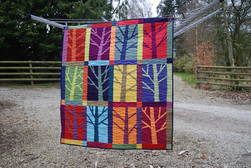 12 Trees Quilted | by Lynne @ Lilys Quilts