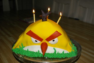 Angry Bird cake | by Kim Siever