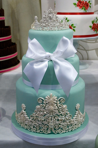 Tiffany's Wedding Cake | by Sucre Coeur - Eats & Ink