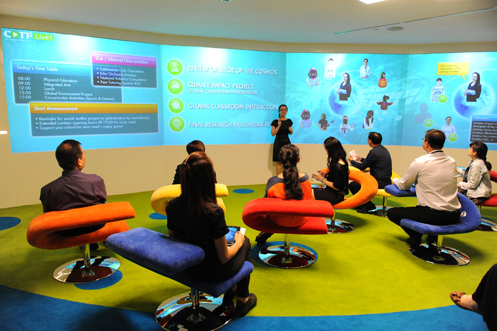 Classroom Design Of The Future ~ Classroom of the future transforming classrooms into