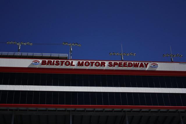 Big Blue March Sky Explore Bristol Motor Speedway