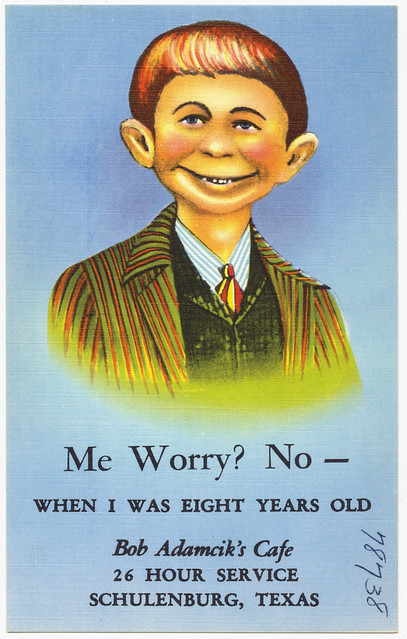 Me Worry No When I Was Eight Years Old Bob Adamcik 39 S Caf Home Cooking Novelties 26