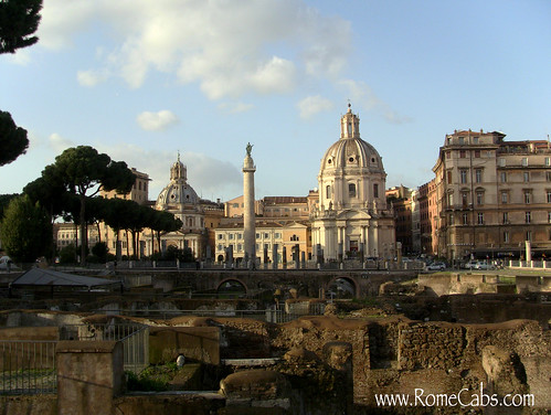 Trajan's Forum in Rome | by Rome Cabs