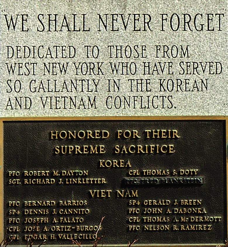 Vietnam-and-Korean-war-memorial--West-New-York-(detail)