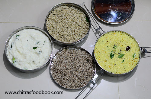 South Indian rice varieties