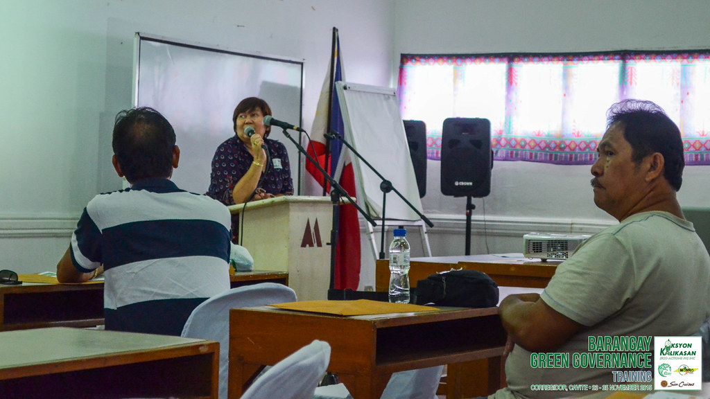 Aksyon Kalikasan | Barangay Green Governance - Councilor Estelita Manalang, Welcome Remarks