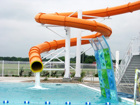 South Ymca Waterpark Slide Ymcawichita Flickr