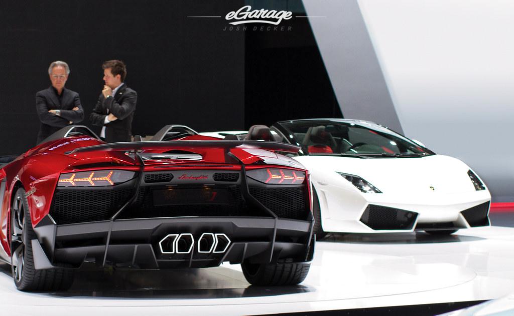 Horacio Pagani Lamborghini Aventador J A True Gentleman A Flickr