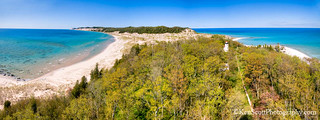 South Fox Island ... tower view, spring panorama | by Ken Scott