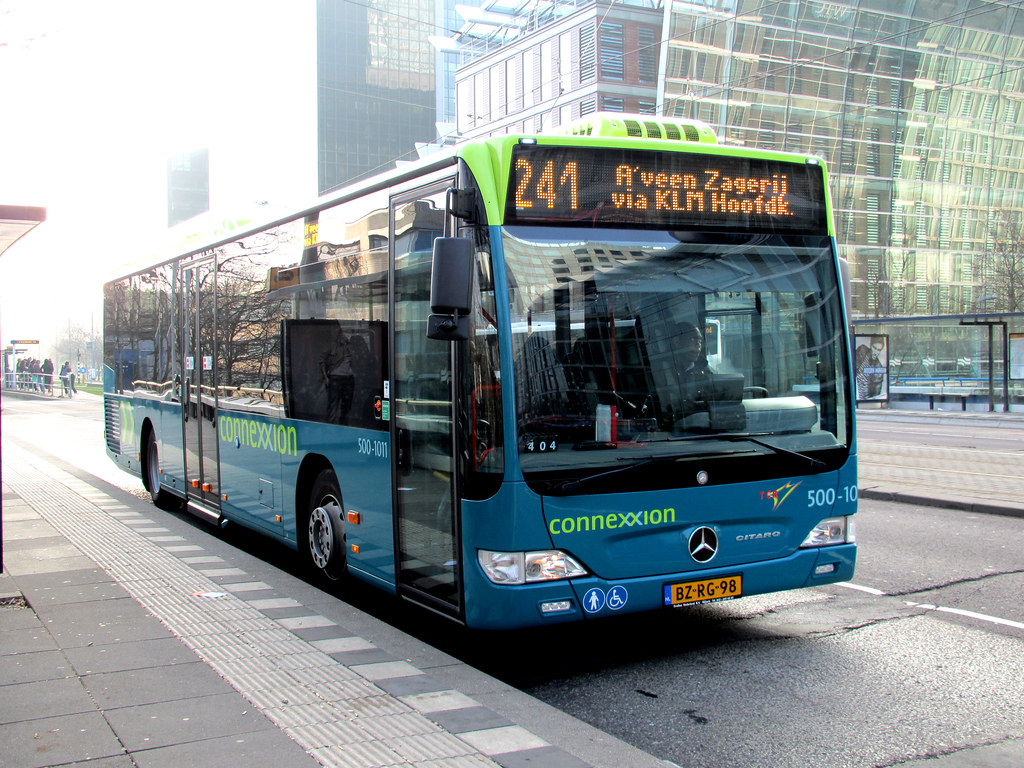 tcr connexxion bus 500 1011 amsterdam station zuid flickr. Black Bedroom Furniture Sets. Home Design Ideas