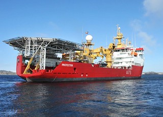 Ice Patrol Vessel HMS Protector in the Antarctic | by Defence Images