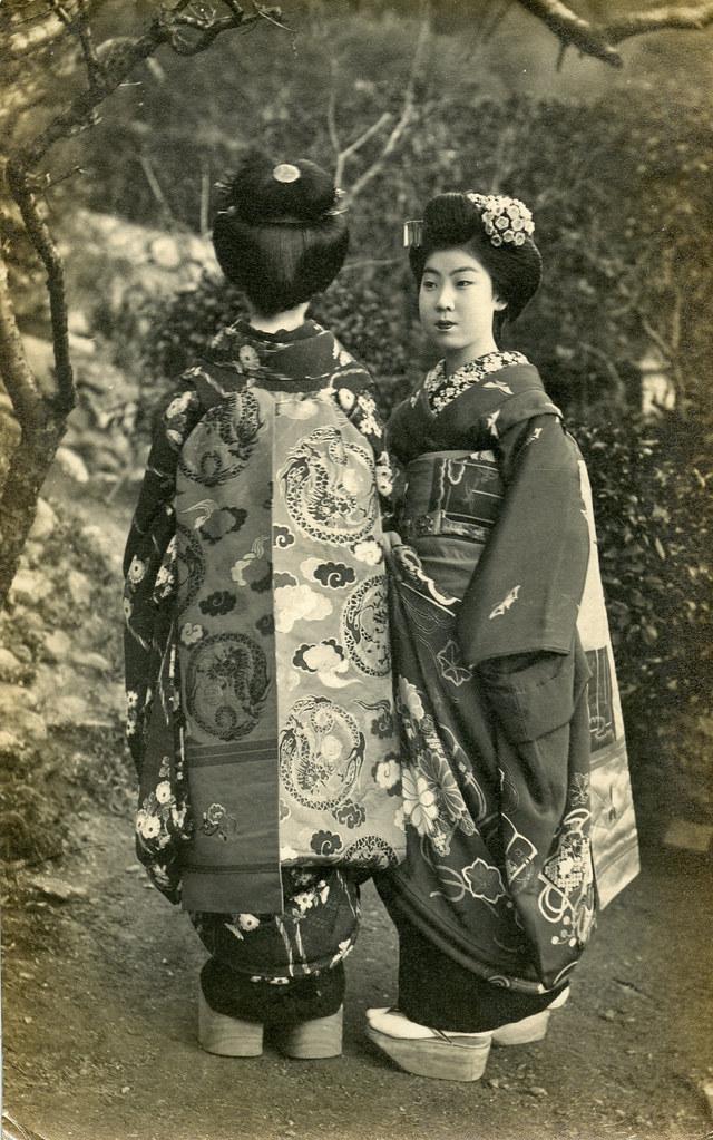Darari Obi of Nishijin Silk 1917 | The Obi of a Maiko (Appre… | Flickr