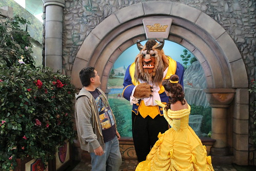 Belle and I remark on how handsome the Beast is | by Castles, Capes & Clones