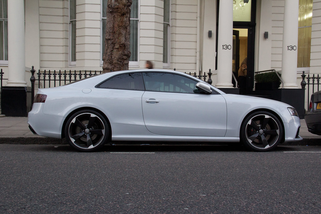 Audi Rs5 White Creme Ben Flickr