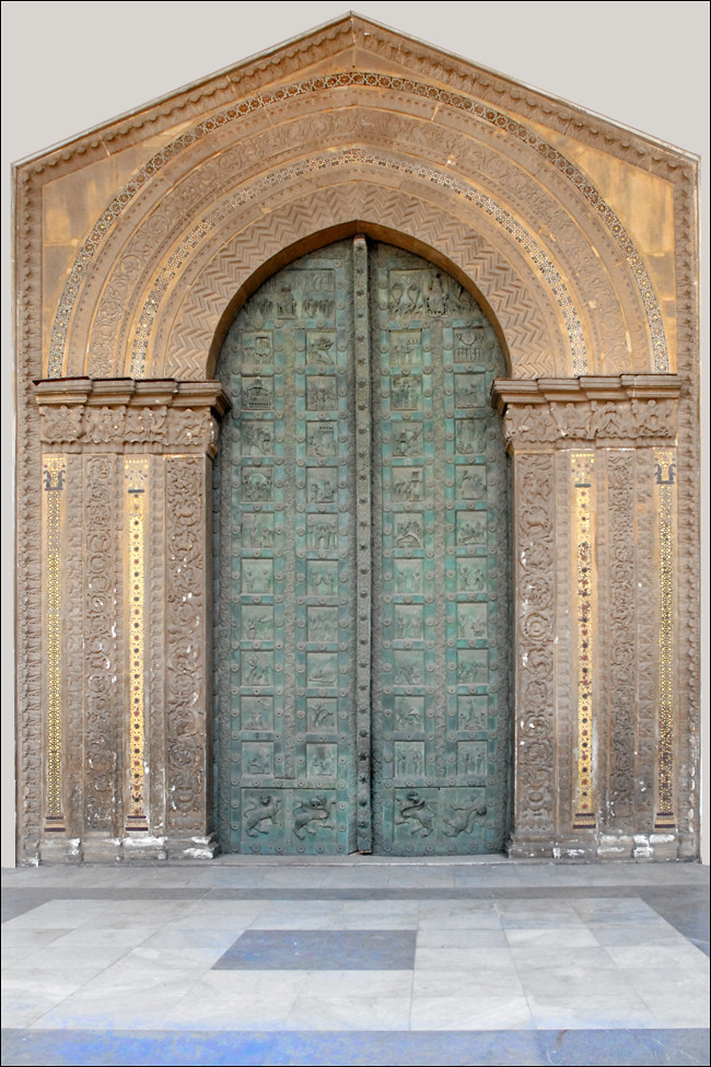 La Porte Du Paradis  Cath U00e9drale De Monreale