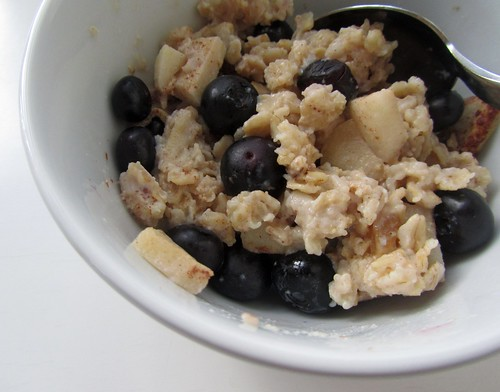 Baked Apple Oatmeal w/ Blueberries | by lynn.gardner