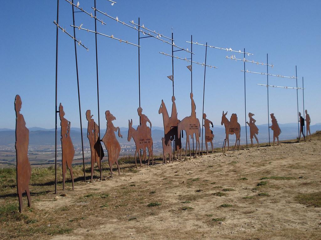 Alto del Perdón, Navarra :: Albergues del Camino de Santiago